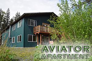 Aviator Apartments at Alaska Creekside Cabins in Seward Alaska, Real Alaskan Vacation Cabins