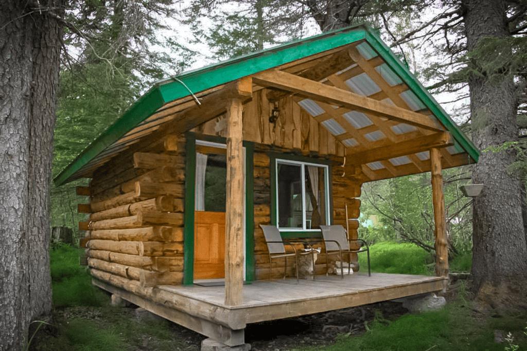 MIner Cabin at Alaska Creekside Cabins