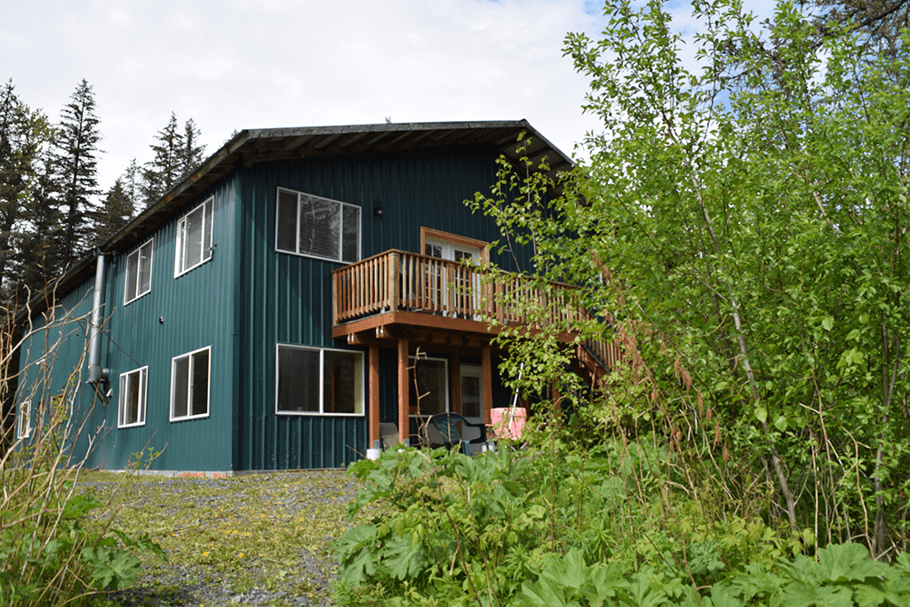 Coho Lodging at Alaska Creekside Cabins in Seward, Alaska.