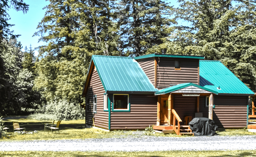 Homestead Cabin at Alaska Creekside Cabins in Seward, Alaska