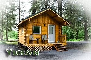 Yukon Cabin at Alaska Creekside Cabins in Seward Alaska, Real Alaskan Vacation Cabins
