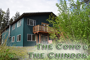 Coho lodging at Alaska Creekside Cabins in Seward, Alaska