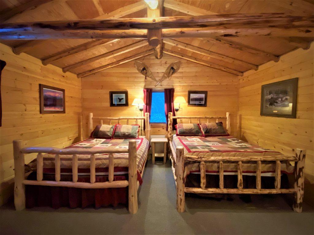 Inside Spring Cabin, Rustic Alaskan Vaction Cabin
